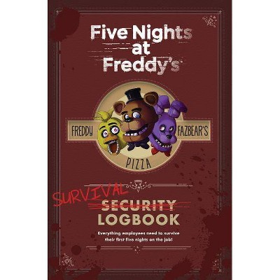 Five Nights at Freddy's Survival Logbook (Five Nights at Freddy's) - by Scott Cawthon (Hardcover)