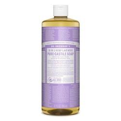 Dr. Bronner's 18-In-1 Hemp Pure-Castile Soap - Lavender - 32 fl oz
