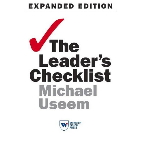 The Leader's Checklist, Expanded Edition - by  Michael Useem (Paperback) - image 1 of 1