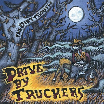 Drive By Truckers - The Dirty South (Clear With Blue Splatte (Vinyl)