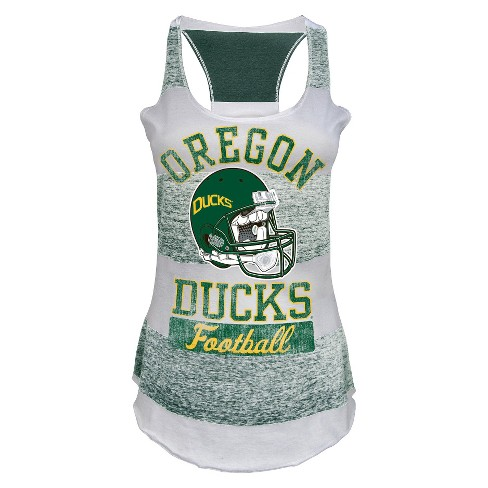 NCAA Oregon Ducks Juniors' Tank Top - White - image 1 of 1