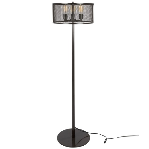 "61"" Indy Mesh Floor Lamp Antique - LumiSource - image 1 of 4"