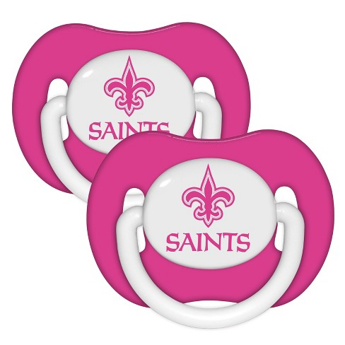 NFL Baby Fanatic 2pk Pink Pacifier Set : Target