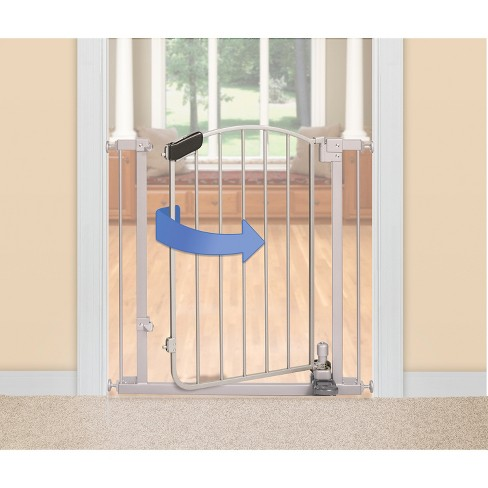 Summer Infant Walk Thru Step To Open Baby Gate Silver Target