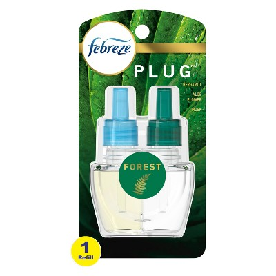 Febreze Plug Forest Refill with Fade Defy Technology