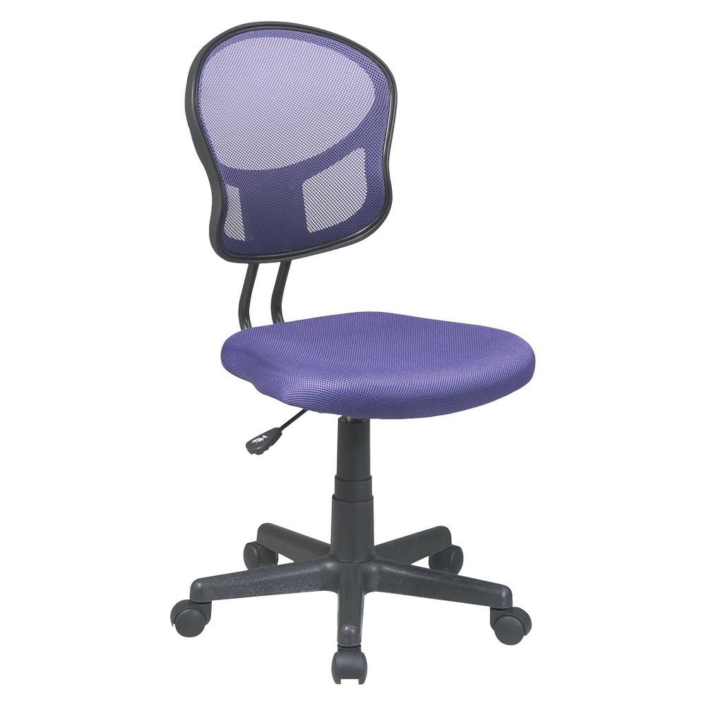 Image of Mesh Task Chair Purple - Office Star
