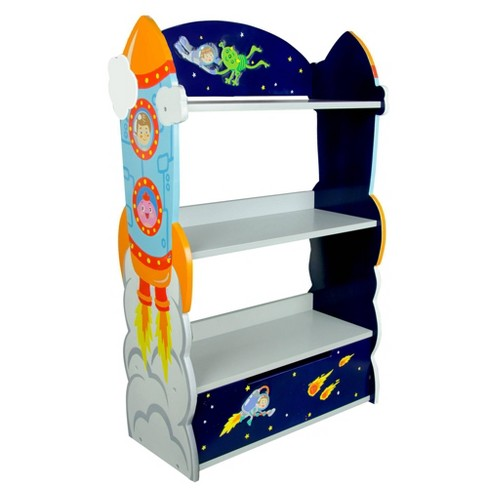 Outer Space Fantasy Fields Bookshelf - Teamson Kids - image 1 of 4