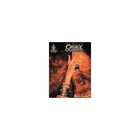 Hal Leonard The Best Of Ozzy Osbourne Guitar Tab Songbook - image 1 of 1