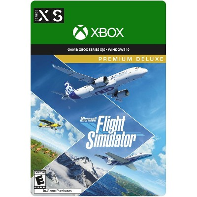 Microsoft Flight Simulator: Premium Deluxe - Xbox Series X S/Microsoft Windows 10 (Digital)
