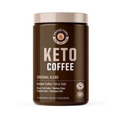 Rapid Fire Ketogenic Original Blend Light Roast Coffee - 7.93oz
