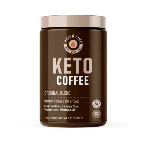 Rapid Fire Ketogenic Original Blend Light Roast Coffee - 7.93oz - image 1 of 4