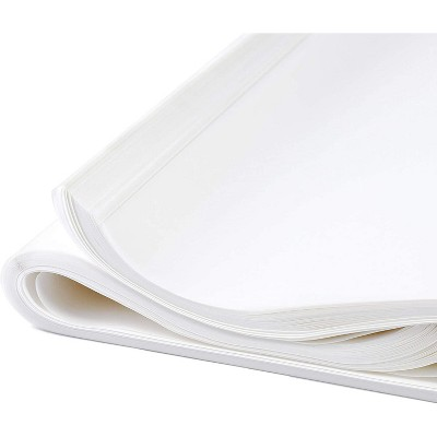"""Bright Creations 100-Pack Glassine Paper Sheets for Wrapping Food and Protect Artwork 16""""x20"""""""