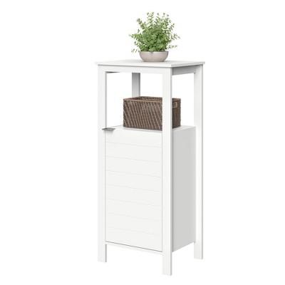 Madison Collection Single Door Floor Cabinet White - RiverRidge Home