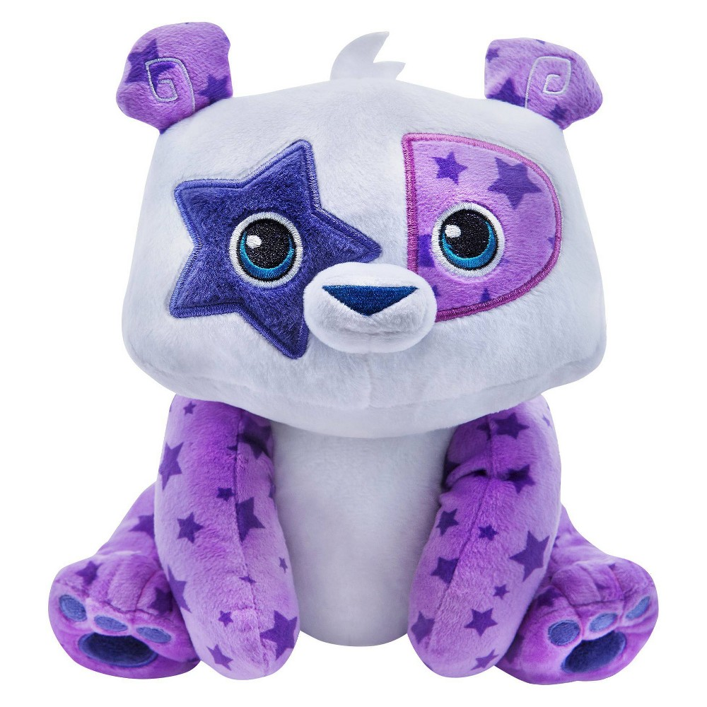 "Animal Jam - Panda Deluxe Plush Animal Jam- Panda Deluxe Plush These Cuddly Friends love to show their personality with unique patterns! Each includes 1 code, inside the hangtag, that unlocks secret content in the hit online game Animal Jam. Collect Us All and Play Wild! at animaljam.com Animal Jam is created in association with National Geographic and is free to play. Features: • Super-soft, huggable plush • High quality materials • Hand wash only • Collect them all and Play Wild! at animaljam.com Includes: • 1 (approx. 12"") Plush Animal • 1 SECRET online game code, redeemable at animaljam.com/redeem All Ages Gender: unisex."
