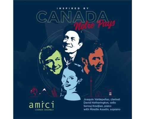 Mireille Asselin - Inspired By Canada/Notre Pays (CD) - image 1 of 1
