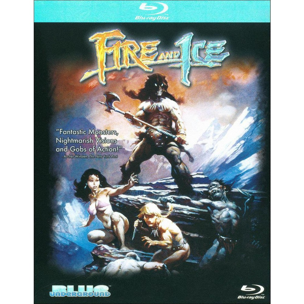 Fire And Ice (Blu-ray), Movies