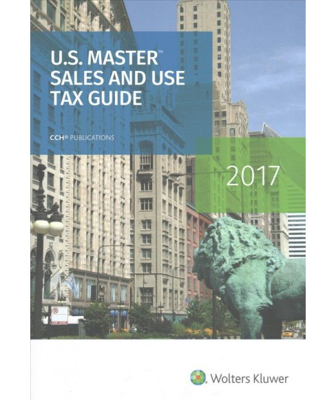 U.s. Master Sales and Use Tax Guide 2017 (Paperback) - image 1 of 1