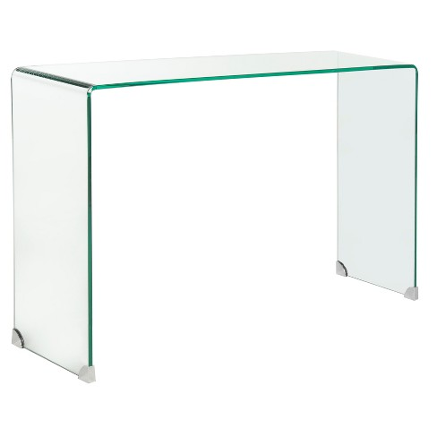 Console Table Clear Safavieh