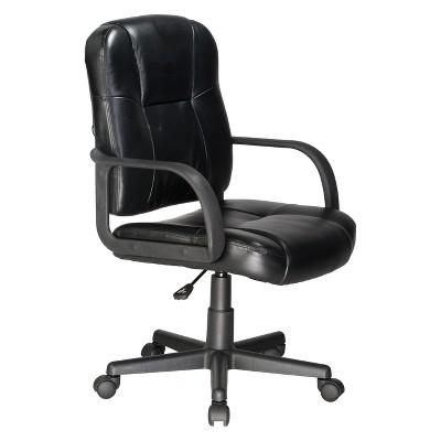 2 Motor Massage Task Chair Black - OneSpace