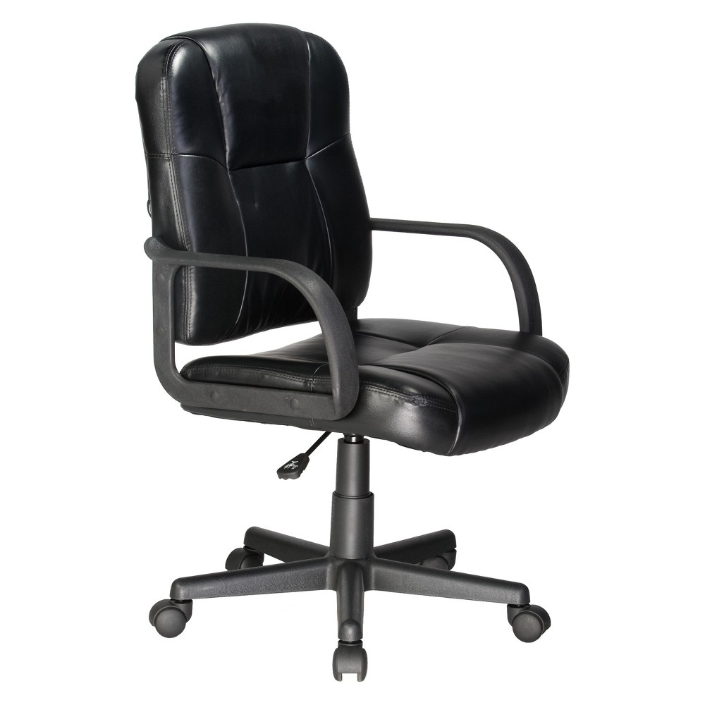 Image of 2 Motor Massage Task Chair Black - OneSpace