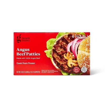Angus Beef Patties - Frozen - 2lbs - Good & Gather™