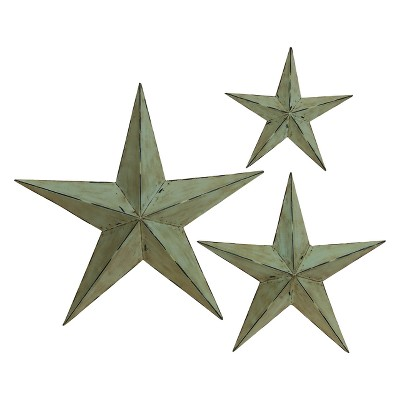 Metal Wall Star Set of 3 - Olivia & May