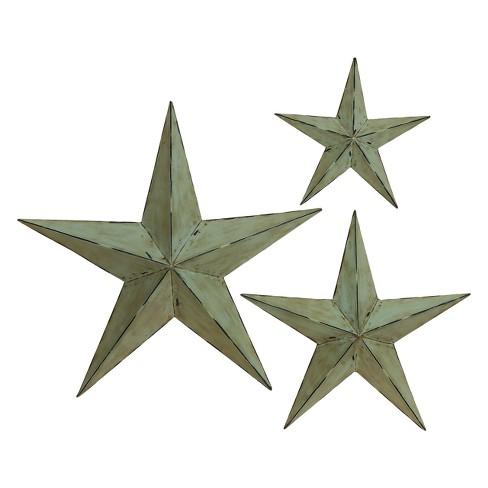 Metal Wall Star Set of 3 - Olivia & May - image 1 of 2