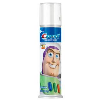 Crest Kids Cavity Protection Blue Bubblegum Toothpaste Pump Featuring Disney Pixar Toy Story 4 - 4.2oz