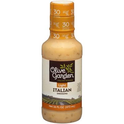 Salad Dressing & Toppings: Olive Garden Light