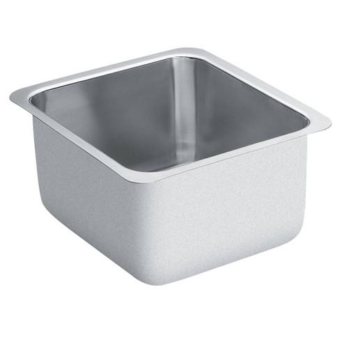 "Moen G18442 16"" Single Basin Undermount Stainless Steel Bar Sink - image 1 of 2"