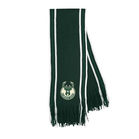 NBA Milwaukee Bucks Stripe Fringe Scarf - image 1 of 1