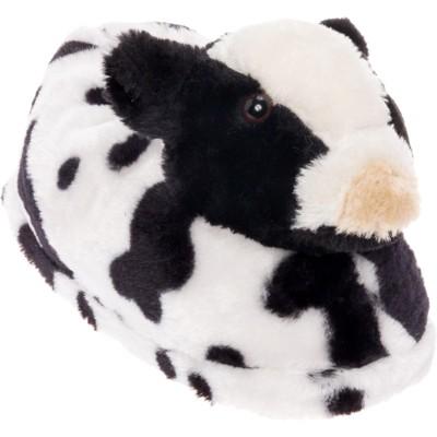 FUNZIEZ! - Women's Cow Animal Slippers