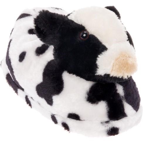 FUNZIEZ! - Women's Cow Animal Slippers - image 1 of 4