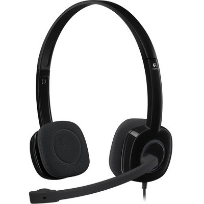 Logitech Stereo Headset H151 - Stereo - Mini-phone - Wired - 22 Ohm - 20 Hz - 20 kHz - Over-the-head - Binaural - Supra-aural - 5.91 ft Cable