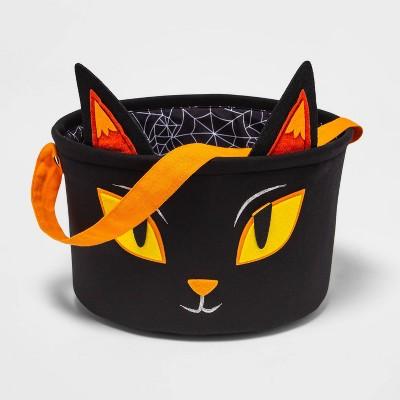 Fabric Cat Halloween Candy Bowl - Hyde & EEK! Boutique™