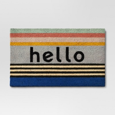 Hello Doormat 1'6 x2' - Room Essentials™