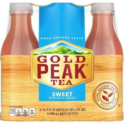 Gold Peak Sweet Tea - 16.9 fl oz Bottles