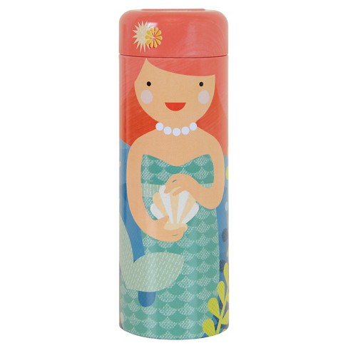 Petit Collage Playful Mermaids Tin Canister Puzzle - 64pc - image 1 of 2