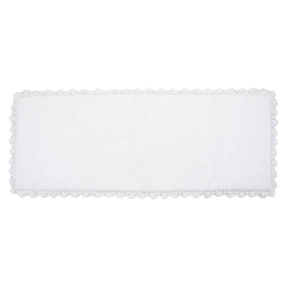 Crochet Bath Rug Runner White(22X60) - Chesapeake Merch Inc.