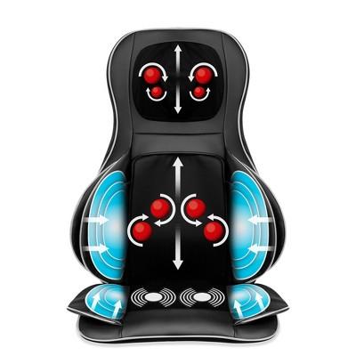 Best Choice Products Air Compression Shiatsu Neck & Back Massager Seat Chair Pad Massage Cushion, 2D/3D Kneading w/ Heat