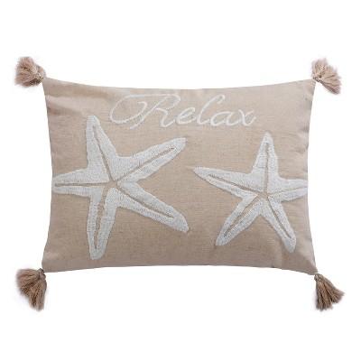 San Sebastian Relax Starfish Decorative Pillow - Levtex Home