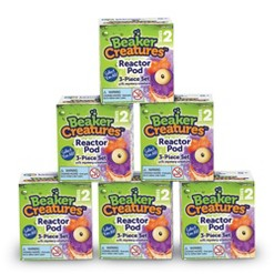 Learning Resources Beaker Creatures Series 2 Reactor Pods 6pk