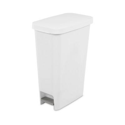 11gal Slim Step Trash Can - Room Essentials™