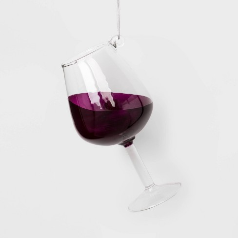 Wine Glass Christmas Ornament - Wondershop™ - image 1 of 2