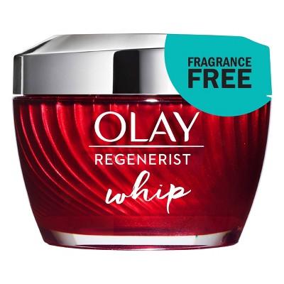 Olay Regenerist Whip Fragrance Free Facial Moisturizer - 1.7oz