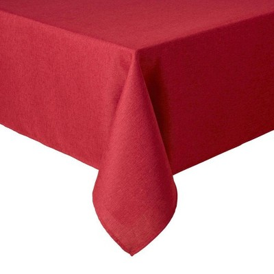 """60""""X120"""" Somers Tablecloth Red - Town & Country Living"""