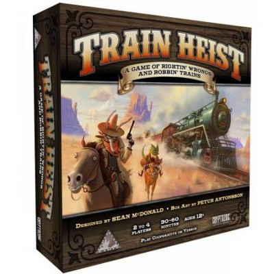 Train Heist Board Game