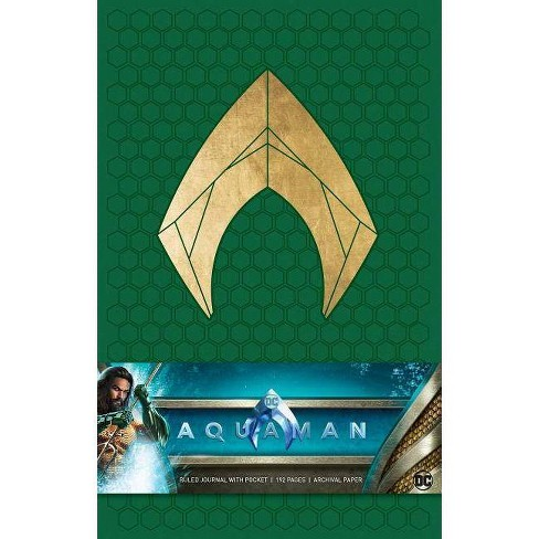 Aquaman Hardcover Ruled Journal - by  Insight Editions - image 1 of 1
