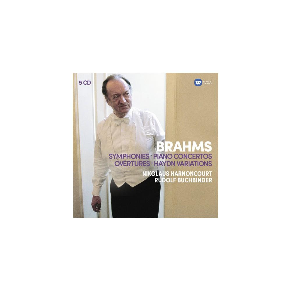 Harnoncourt Baroque - Brahms:Syms Overtures;Haydn Variation (CD)