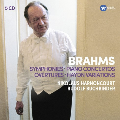 Harnoncourt baroque - Brahms:Syms overtures;Haydn variation (CD) - image 1 of 1